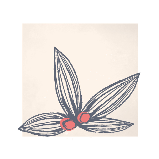art prints - serene leaves by Melanie Severin