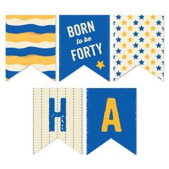 Born to be Forty Party Decor