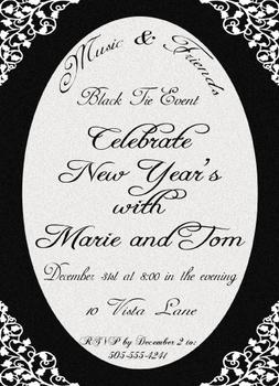Black Tie New Years