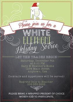 White Elephant soiree