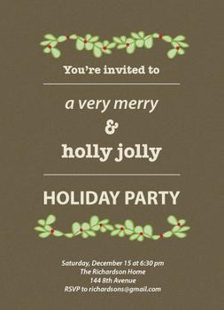 Holly Jolly Holiday Party