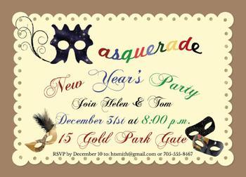 Masquerade New Year's
