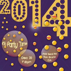 New Year halo