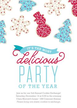 Most Delicious Party of the Year Party Invitations