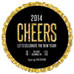 New Year Cheer Party Invitations