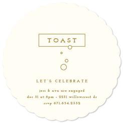 Toast Party Invitations