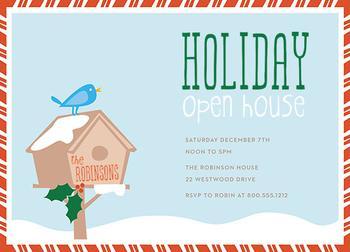 holiday open house Party Invitations