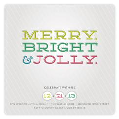 Merry Bright Jolly
