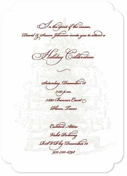 Spirit of the Season Party Invitations