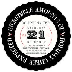 Incredible Cheer Party Invitations