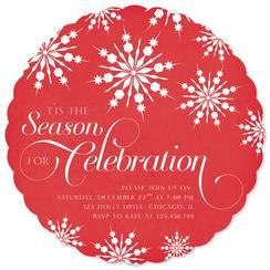 Season for Celebration Party Invitations