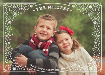 Shining bright Holiday Photo Cards