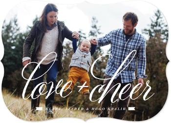Love+Cheer Holiday Photo Cards