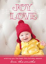 Joy Love Happiness by Stella Bella Invites