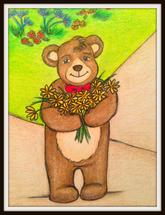 Flowers for You by Julia Di Sano - Artist of Ebi Emporium
