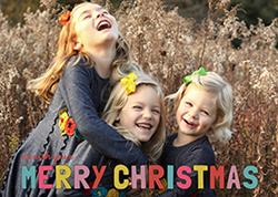 A Christmas Wish Holiday Photo Cards