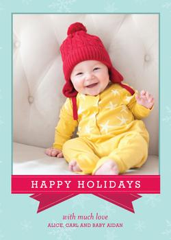 Precious Gift Holiday Photo Cards