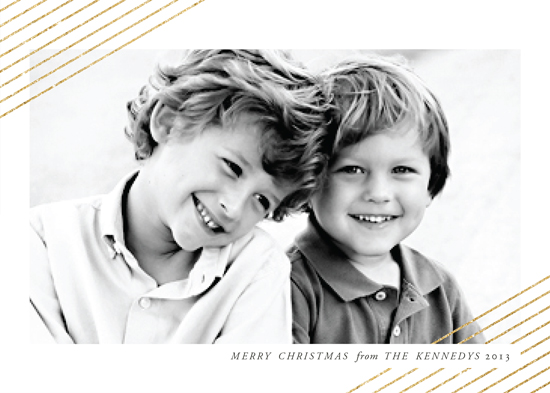 holiday photo cards - Modern Shimmer by b.wise papers
