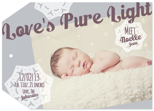 holiday photo cards - Love's Pure Light