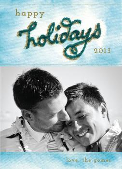 PT holiday Holiday Photo Cards