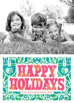 Super Happy Scandi Holiday Photo Cards