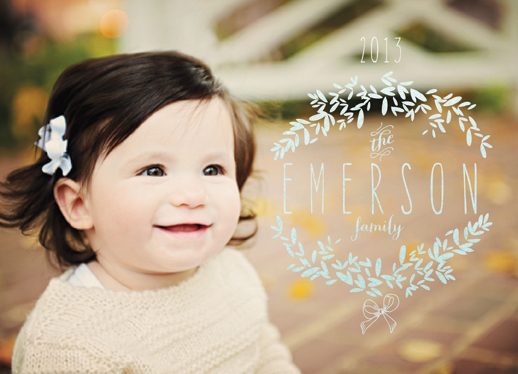 holiday photo cards - A Family Wreath by Danielle Colosimo