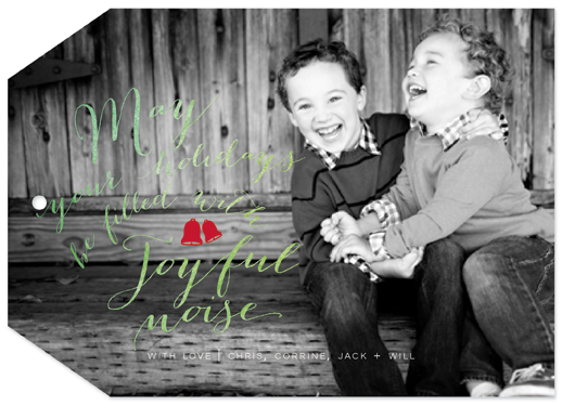 holiday photo cards - Joyful Noise by Danielle Colosimo