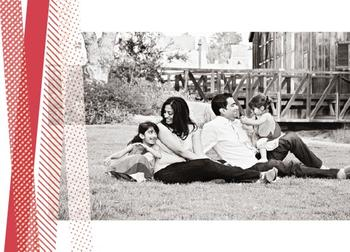 Washi Taped Holiday Photo Cards