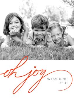 Joy is Here Holiday Photo Cards