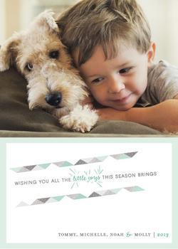 Season's Little Joys Holiday Photo Cards