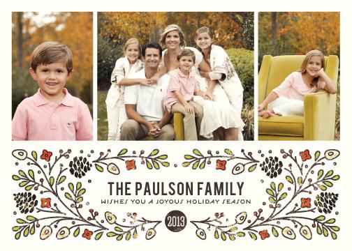holiday photo cards - Holiday Garden by Kimberly Morgan
