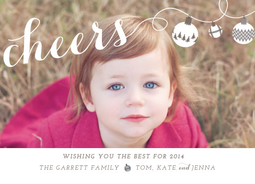 holiday photo cards - holiday cheers