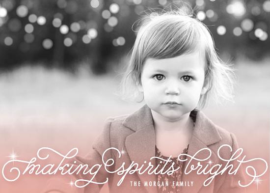holiday photo cards - Making Spirits Bright