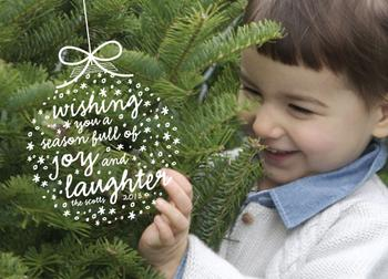 Joy and Laughter Ornament