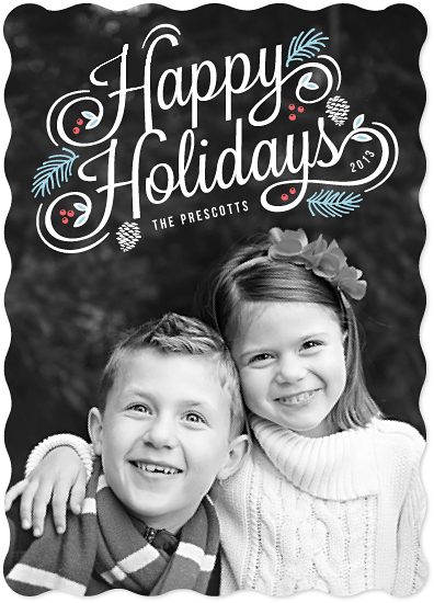 holiday photo cards - Statement