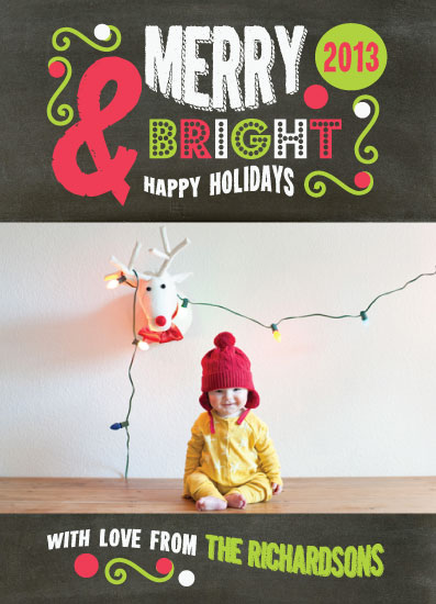 holiday photo cards - All Lit Up