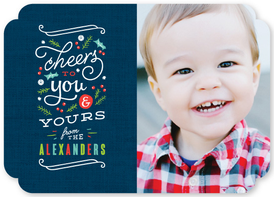 holiday photo cards - Bright Cheers by Kristie Kern