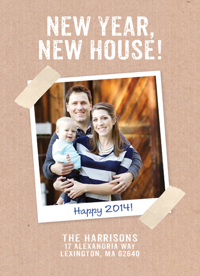 new year's cards - New Year New House by Sarah Wrede