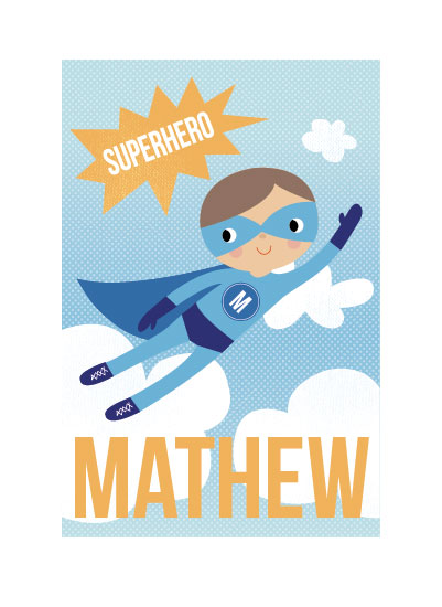 art prints - SuperBoy! by Tara Lilly Studio