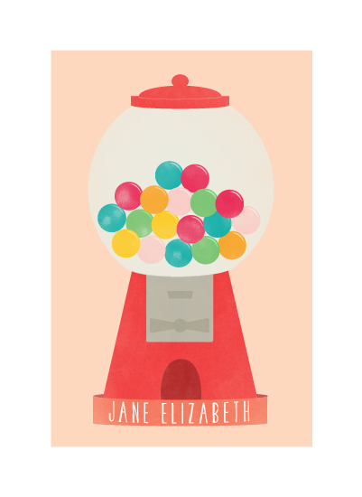 art prints - sweet & bubbly by Pretty in Paper