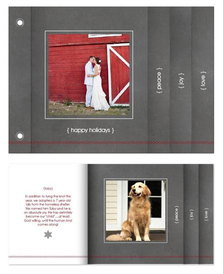 minibook cards - Slate by Melissa Boyce
