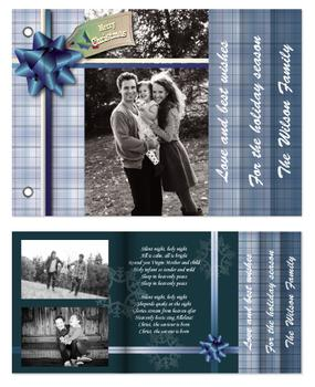 Blue Plaid Gift