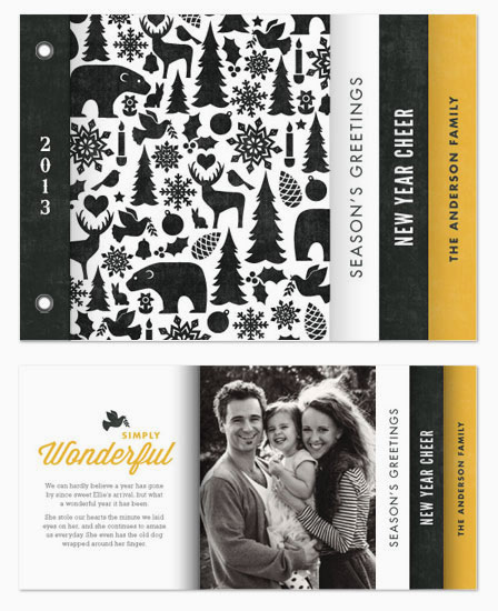 minibook cards - Wintry Mix by Jessie Steury