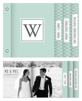 Merry Married Monogram
