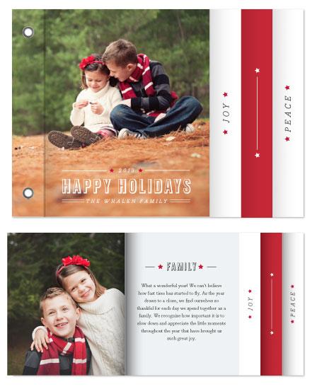 minibook cards - Celebratory Star by WHALEN