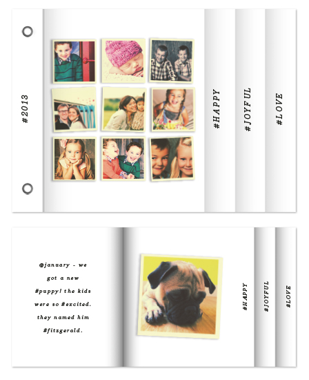 minibook cards - insta-book by Up Up Creative