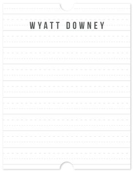 Notebook Personal Stationery