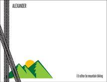 Mountain Biking Man by Tanner Clark
