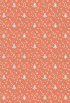 Litlle Holidays Pattern Gift Wrap
