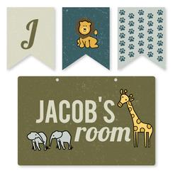 It's a Safari Room Decor